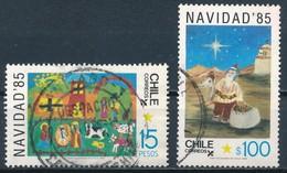 °°° CILE CHILE - Y&T N°715/16 - 1985 °°° - Cile
