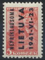 Litauen 2 ** Postfrisch - Occupation 1938-45
