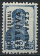 Litauen 3 ** Postfrisch - Occupation 1938-45