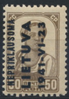 Litauen 7 ** Postfrisch - Occupation 1938-45