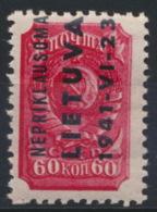 Litauen 8 ** Postfrisch - Occupation 1938-45