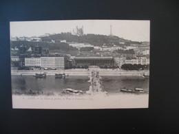 Carte Lyon - Le Palais De Justice Et Le Pont De Fourvière - Lyon
