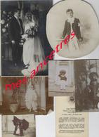 Lot Archives Photographiques Paul Dupré époux Longfils- 1896-1956 - Identified Persons