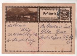 +3947, Österreich > Ganzsachen, Bildpostkarte, Alt-Aussee - Entiers Postaux