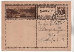 +3949, Österreich > Ganzsachen, Bildpostkarte, Admont - Entiers Postaux