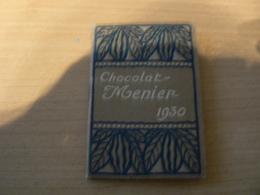 FRANCE/PETIT CALENDRIER CHOCOLAT MENIER 1930 - Chocolat