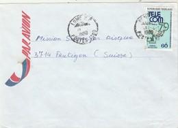 Togo - Lettre LOME 1980 Pour Frutigen Suisse - - Togo (1960-...)