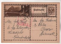 +3952, Österreich > Ganzsachen, Bildpostkarte, Traunkirchen - Entiers Postaux