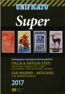 Catalogues Stamps Of Italy Unificato Super 2017 Year On DVD - Italia
