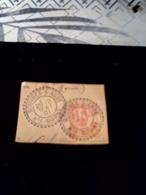 15 C MOUCHON SUR FRAGMENT Cachet Facteur Boitier 1901 ROUVRES SUR AUBE Hte Marne - Poststempel (Einzelmarken)