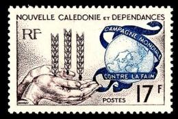 NOUV.-CALEDONIE 1963 - Yv. 307 **   Cote= 5,10 EUR - Campagne Mondiale Contre La Faim  ..Réf.NCE25032 - Nouvelle-Calédonie