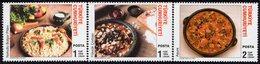 Turkey - 2007 - Traditional Turkish Cuisine - Mint Stamp Set - Ungebraucht