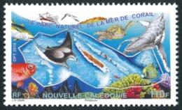 NOUV.-CALEDONIE 2016 - Yv. 1273 **   Faciale= 0,92 EUR - Faune Marine. Parc Naturel Mer De Corail  ..Réf.NCE24627 - Nouvelle-Calédonie