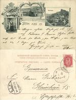 Georgia Russia, TBILISI TIFLIS, Arlabar Bridge, Armenian Girl, Fortress (1899) - Géorgie