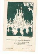 Scoutisme Les Scouts Ont Mis La Flamme Au Bois Rénineux Dessin De Anker - Scoutisme