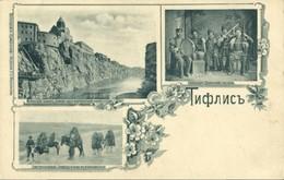 Georgia Russia, TBILISI TIFLIS, Metekhi Church, Sazandari Caucasian Music (1899) - Géorgie