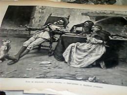 C135 1892  Tipi Di Soldati Antichi Di R. Armenise: In Convento  STAMPA INC  CARTA SOTTILE - Ante 1900