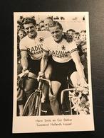 Harm Smits & Cor Bakker Niederlande Radium Reifen   Radfahrer Radrennen Radsport  Cycling Velo Wielrennen - Cyclisme