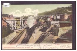 DISTRICT DE VEVEY - MONTREUX - LA GARE - TRAIN - BAHN - TB - VD Vaud