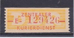 DDR, Dienst: ZKD Nr. 16 E**, Nachdruck. (T 14406) - DDR
