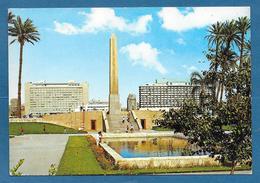 CAIRO NILE HILTON HOTEL AND THE OBELISK OF RAMSES II - Cairo