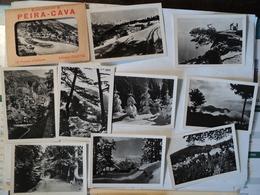 PEIRA CAVA. ANNEES 50? ENSEMBLE DE 10 PHOTOS GILLETTA DANS LEUR ETUI COL SAINT ROCH / LUCERAM / LA CHAINE DES ALPES / L - Autres