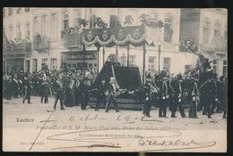 LAEKEN  FUNERAILLES DE S.M. MARIE HENRIETTE ,REINE DES BELGES 1836 - 1902 - Laeken