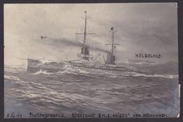 AK / WK 1 / Rückfahrt S.M.S. Kaiser Von Helgoland  ...  ( E 433 ) - Guerre 1914-18