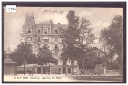 GENEVE - AVENUE DU MALL - TB - GE Genève