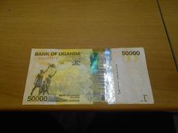 UGANDA   50 000  SHILLINGS  BILLET - Uganda