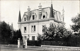 Cp Genève Genf Stadt, Pension Hauteville, Avenue De Champel 39, Inh. Mmes. Schussele - GE Genève