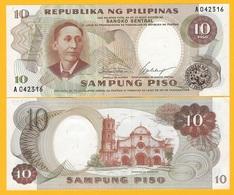Philippines 10 Piso P-144a 1969 UNC Banknote - Philippinen