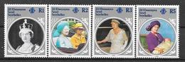 Seychelles - Zill éloigne SESSEL N° 116/19 YVERT NEUF ** - Seychelles (1976-...)