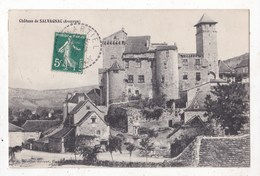 Carte Postale  Aveyron Chateau De Salvagnac - Châteaux