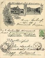 Georgia Russia, TBILISI TIFLIS, Methek Fortress, Erivansky Square 1899 Postcard - Géorgie