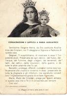 CONSACRAZIONE E SUPPLICA A MARIA AUSILIATRICE - - Vergine Maria E Madonne