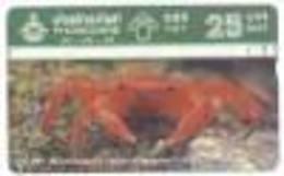THAILG : 380630 A 25 Thai Crabs MINT - Thaïlande
