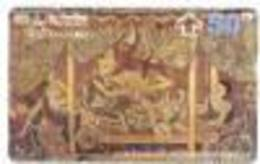 THAILG : 390101 B 50 Erotic Scene Painting Gold USED - Thaïlande