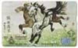 THAILG : 420120 50 2 Horses USED - Thaïlande