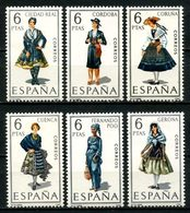 ESPAGNE 1968 N° 1498/1503 ** Neufs MNH Superbes C 1,50 € Costumes Féminins Ciudad Real Cordoba Coruna Gerona Suits - 1931-Aujourd'hui: II. République - ....Juan Carlos I