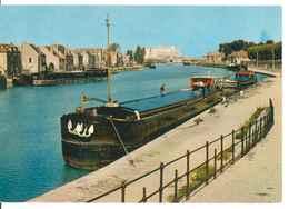 89 - SENS -- BORDS DE L'YONNE  (péniches...) - Sens