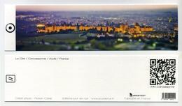 Marque-page - MP - Bookmark - Cité De Carcassonne, Aude, France - 19 Cm X 5 Cm - Marque-Pages