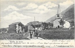 Suisse Valais (Wallis) - Randa, L'église 1902 TB - VS Valais