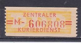 DDR, Dienst: ZKD Nr. 17 M**, Nachdruck. (T 14422) - DDR