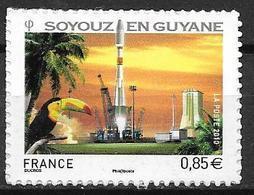 France 2010 Timbre Adhésif Neuf N°470 Espace Soyouz Cote 6,00 Euros - France