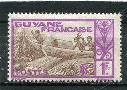 GUYANE  FRANCAISE   N°  124 *  (Y&T)  (Neuf Charnière) - Nuevos