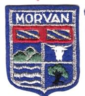 Ecusson Tissu - Morvan - Blason - Armoiries - Héraldique - Ecussons Tissu