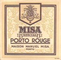 ETIQUETTE - ALCOOL - VIN  - PORTO MISA - PORTO ROUGE SPECIAL - Etiquettes