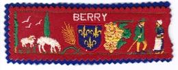Ecusson Tissu - Berry - Blason - Armoiries - Héraldique - Ecussons Tissu