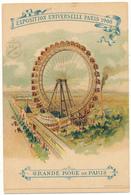 PARIS , Exposition Universelle De 1900 - Grande Roue De Paris - Expositions